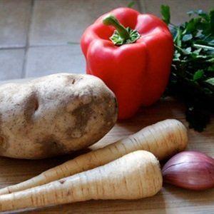 Chả khoai tây
