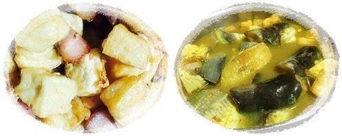 Cách nấu món cá trê om chuối đậu