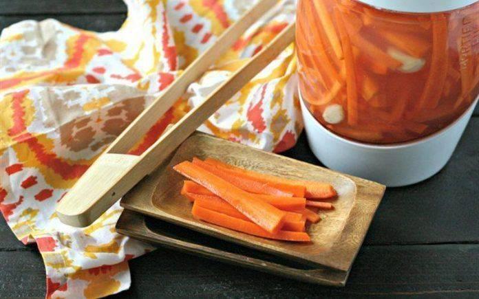 Cà rốt ngâm