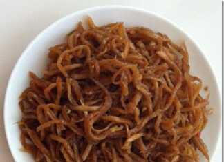 Ăn chay với món : Củ cải khô xào