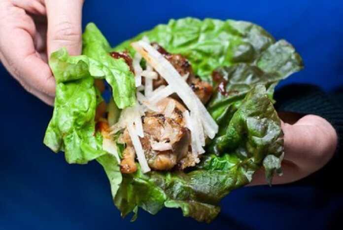 Rau diếp cuốn thịt ăn ngon mà không ngán