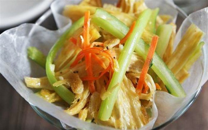 Salad váng đậu