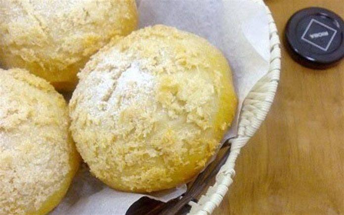 Bánh mì dừa nhân chocolate